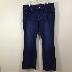 American Eagle Kick Boot Flare Jeans Size 18